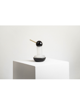Photophore Quinque marbre Noir