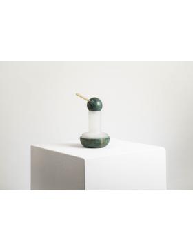 Photophore Quinque marbre vert